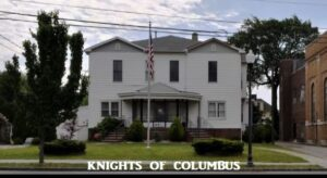 Knights of Columbus Hall Perth Amboy with label